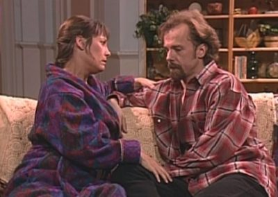 Roseanne with Laurie Metcalf